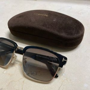 Tom Ford - RIVER VINTAGE SQUARE SUNGLASSES